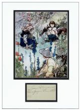 Frances Hodgson Burnett Autograph Signed Display